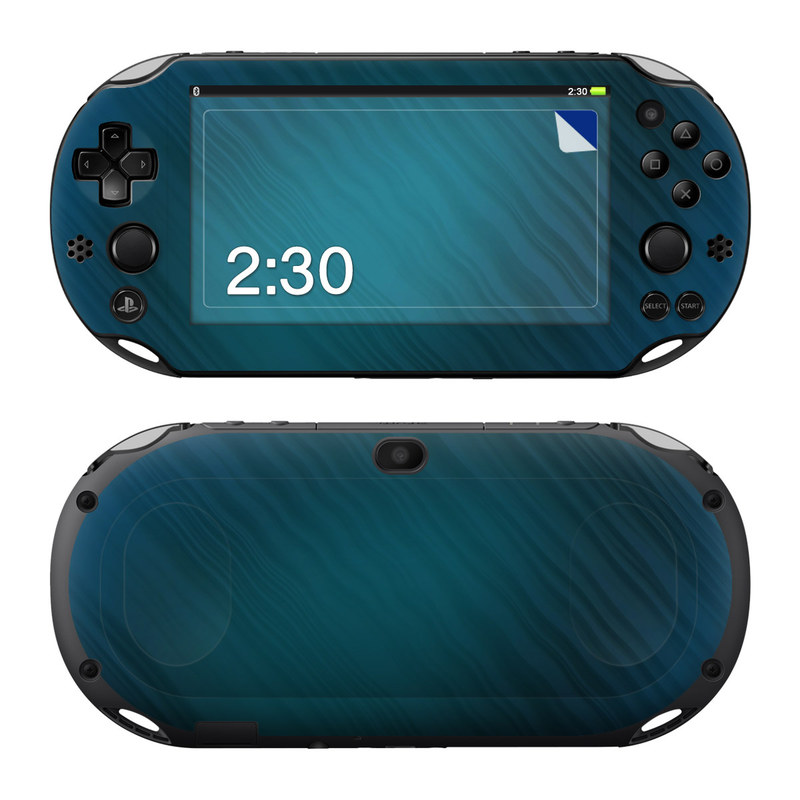 Rhythmic Blue PlayStation Vita 2000 Skin
