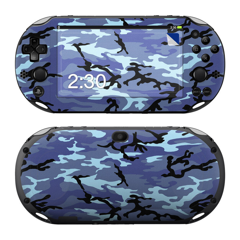 Sky Camo PlayStation Vita 2000 Skin