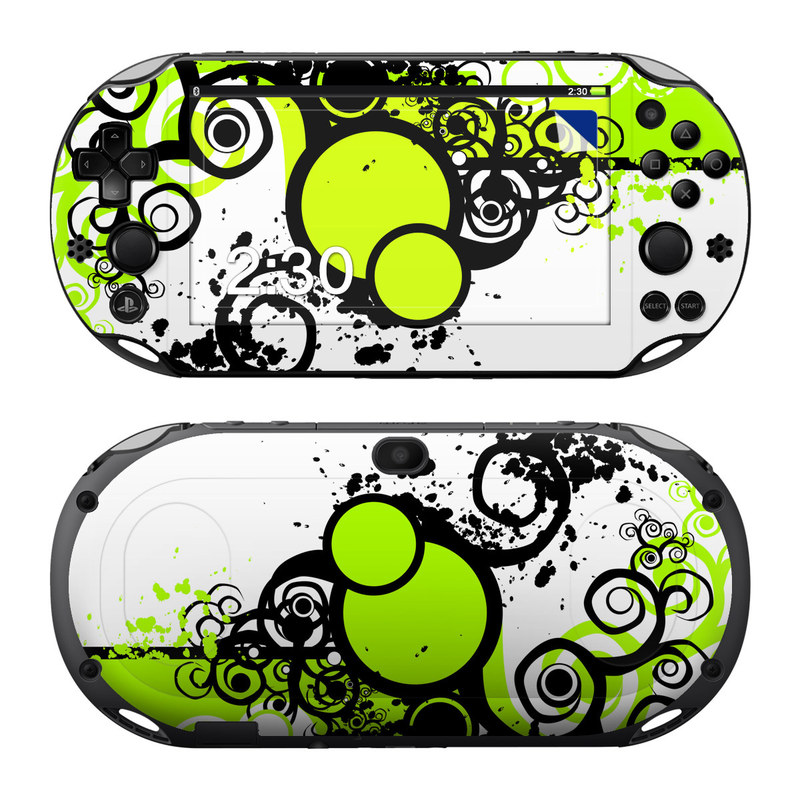 Simply Green PlayStation Vita 2000 Skin