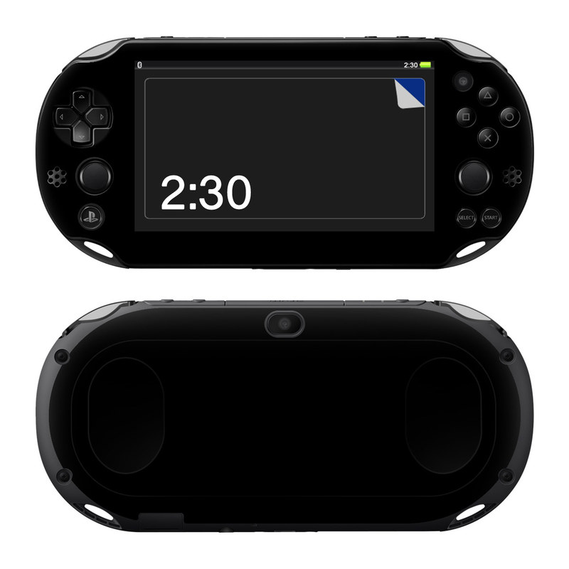 PlayStation Vita 2000 Skin design of Black, Darkness, White, Sky, Light, Red, Text, Brown, Font, Atmosphere with black colors
