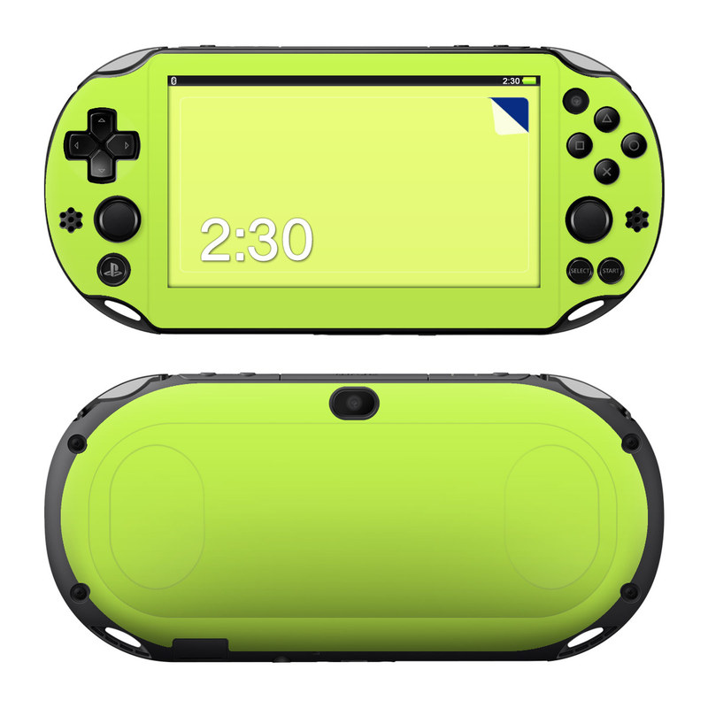 Solid State Lime PlayStation Vita 2000 Skin