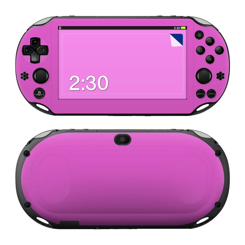 Solid State Vibrant Pink PlayStation Vita 2000 Skin