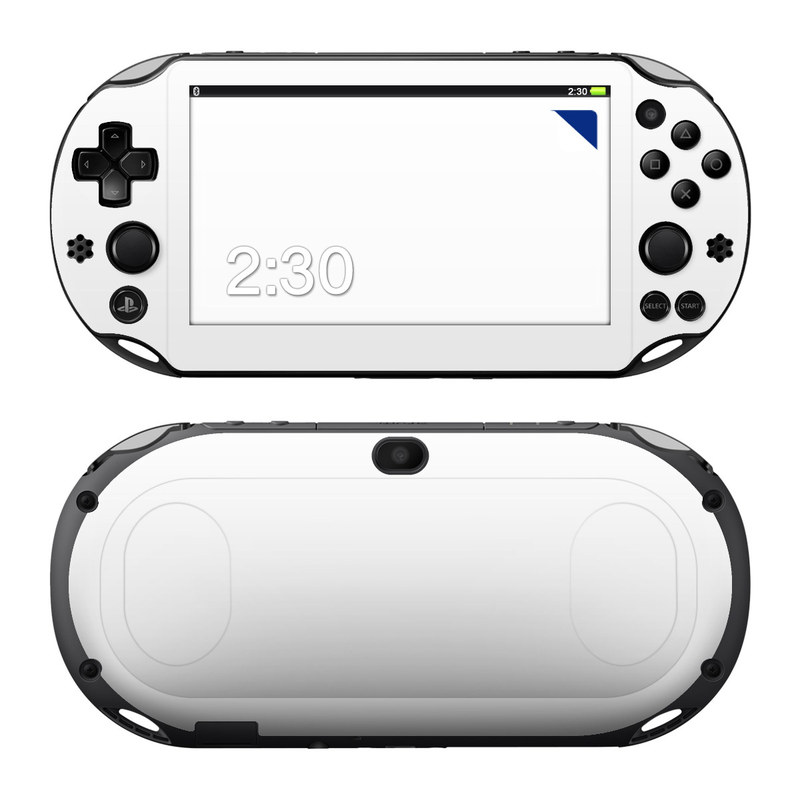 Solid State White PlayStation Vita 2000 Skin