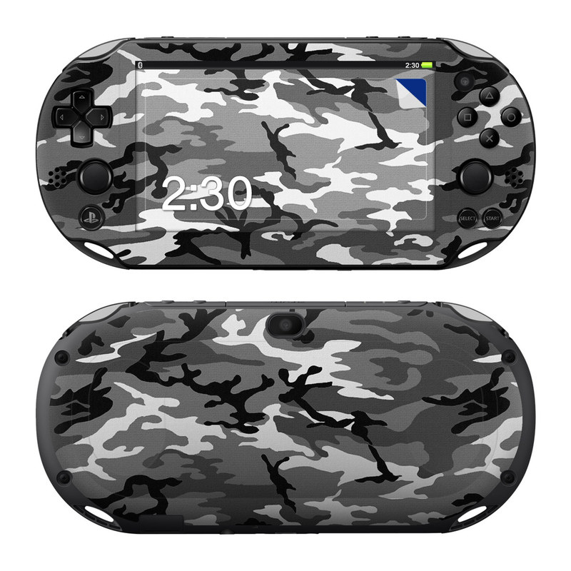 Urban Camo PlayStation Vita 2000 Skin