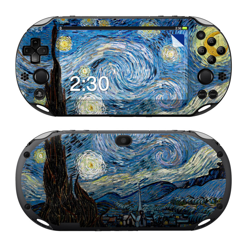 Starry Night PlayStation Vita 2000 Skin