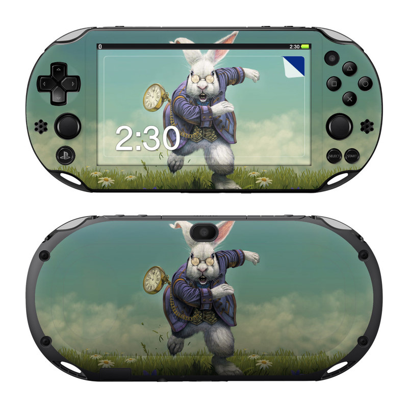 White Rabbit PlayStation Vita 2000 Skin