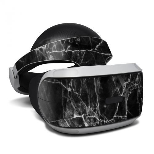 Black Marble PlayStation VR Skin