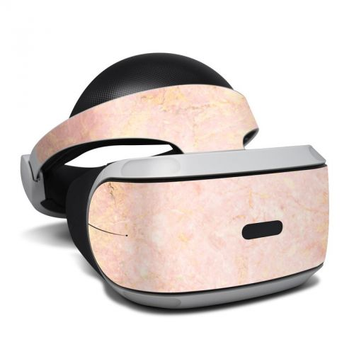 Rose Gold Marble PlayStation VR Skin
