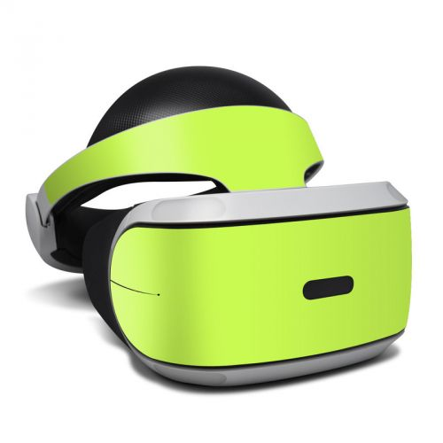 Solid State Lime PlayStation VR Skin