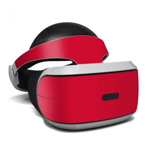 Solid State Red PlayStation VR Skin