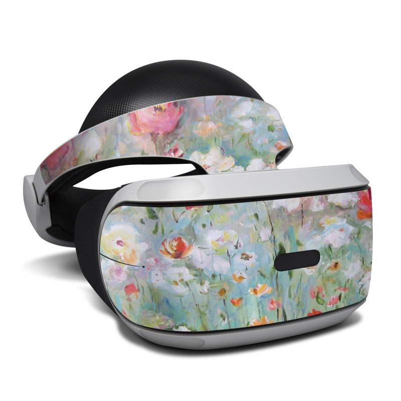 Flower Blooms PlayStation VR Skin