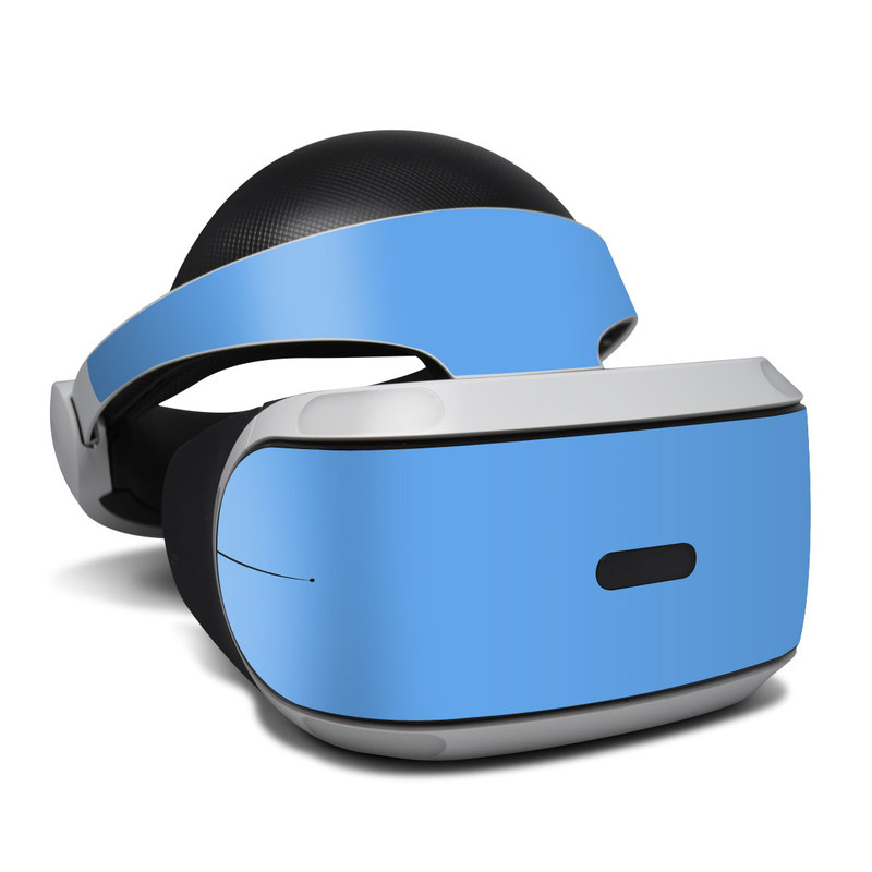 PlayStation VR Skin design of Sky, Blue, Daytime, Aqua, Cobalt blue, Atmosphere, Azure, Turquoise, Electric blue, Calm with blue colors