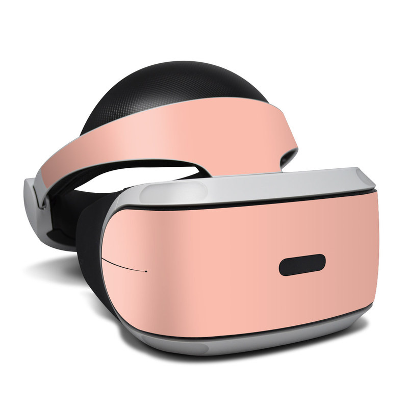Solid State Peach PlayStation VR Skin