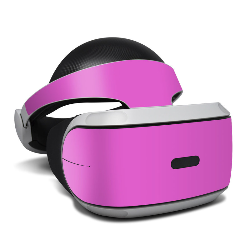 Solid State Vibrant Pink PlayStation VR Skin