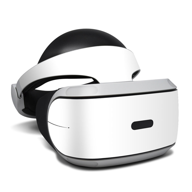 Solid State White PlayStation VR Skin