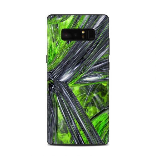 Emerald Abstract Samsung Galaxy Note 8 Skin
