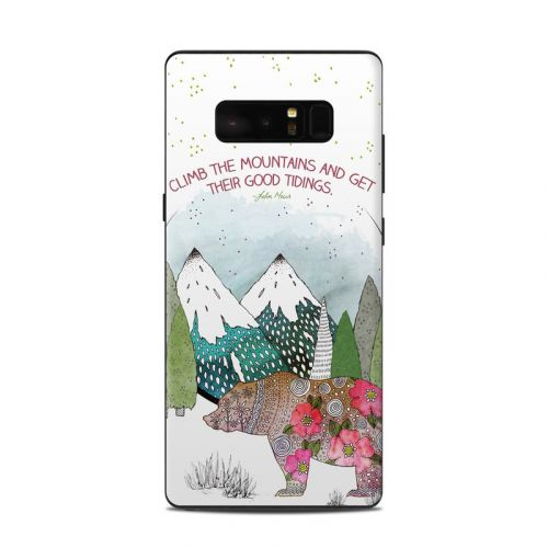 Bear Mountain Samsung Galaxy Note 8 Skin