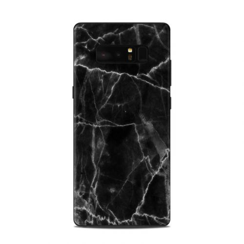 Black Marble Samsung Galaxy Note 8 Skin