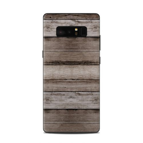 Barn Wood Samsung Galaxy Note 8 Skin