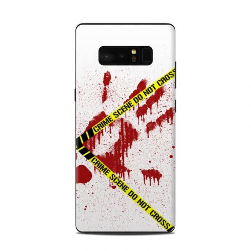 Crime Scene Revisited Samsung Galaxy Note 8 Skin