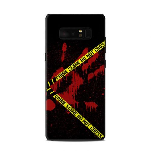Crime Scene Samsung Galaxy Note 8 Skin