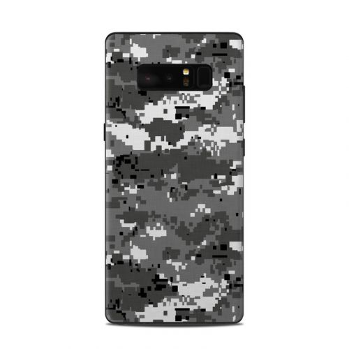 Digital Urban Camo Samsung Galaxy Note 8 Skin