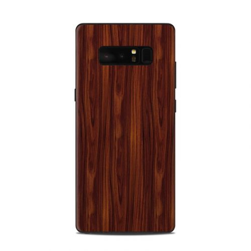 Dark Rosewood Samsung Galaxy Note 8 Skin