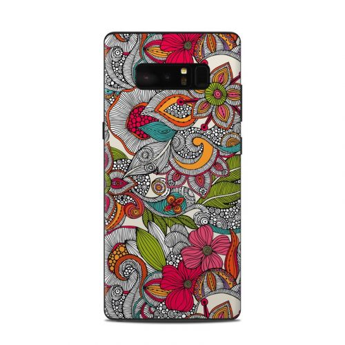Doodles Color Samsung Galaxy Note 8 Skin