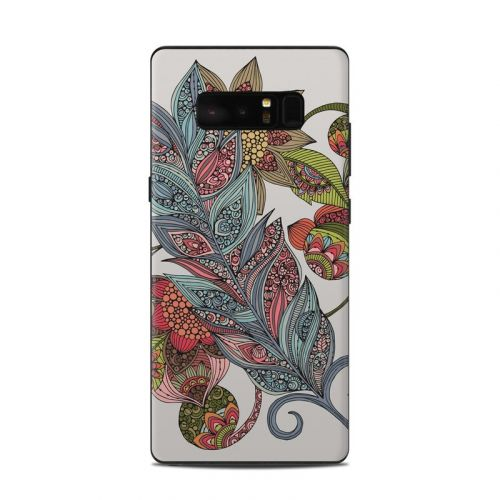 Feather Flower Samsung Galaxy Note 8 Skin