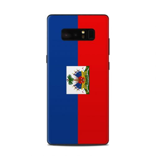 Haiti Flag Samsung Galaxy Note 8 Skin