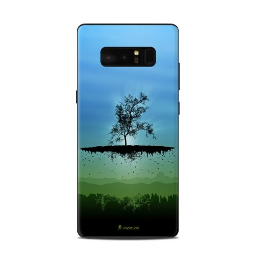Flying Tree Blue Samsung Galaxy Note 8 Skin