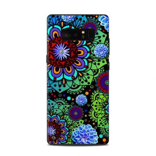 Funky Floratopia Samsung Galaxy Note 8 Skin