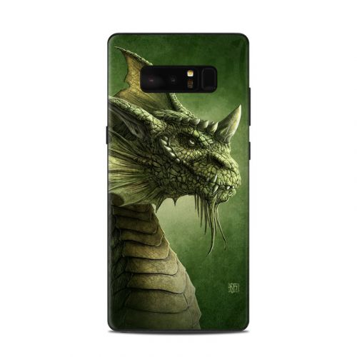 Green Dragon Samsung Galaxy Note 8 Skin