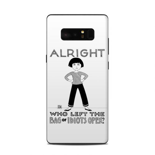 Bag of Idiots Samsung Galaxy Note 8 Skin