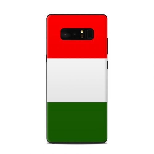 Italian Flag Samsung Galaxy Note 8 Skin