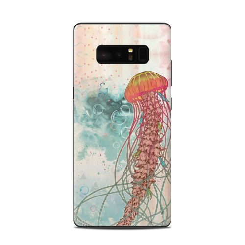 Jellyfish Samsung Galaxy Note 8 Skin