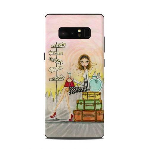 The Jet Setter Samsung Galaxy Note 8 Skin