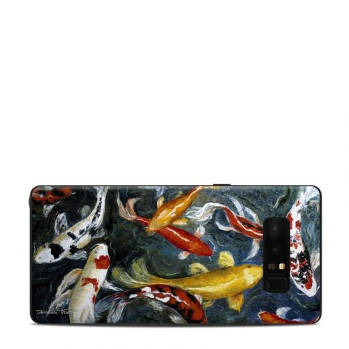 Koi's Happiness Samsung Galaxy Note 8 Skin