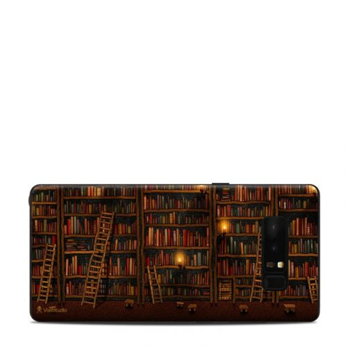 Library Samsung Galaxy Note 8 Skin