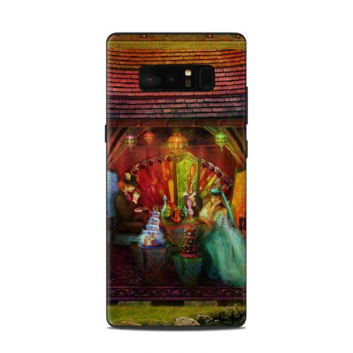 A Mad Tea Party Samsung Galaxy Note 8 Skin