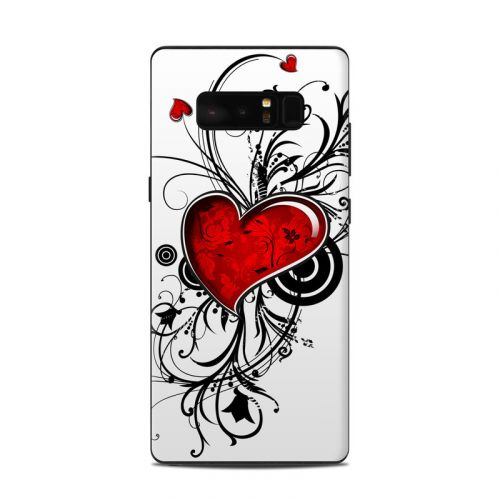 My Heart Samsung Galaxy Note 8 Skin