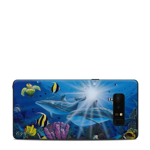 Ocean Friends Samsung Galaxy Note 8 Skin