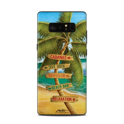 Palm Signs Samsung Galaxy Note 8 Skin