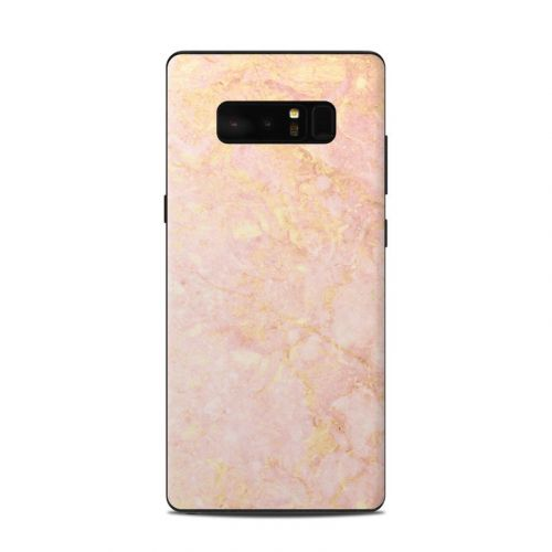 Rose Gold Marble Samsung Galaxy Note 8 Skin