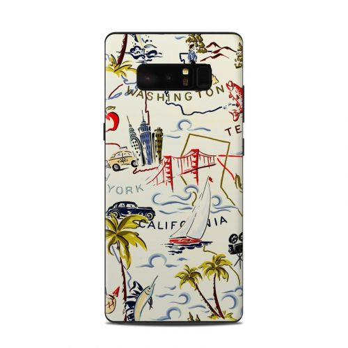 Road Trip Samsung Galaxy Note 8 Skin