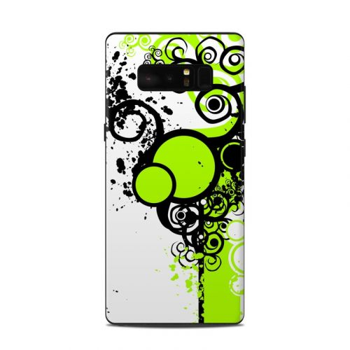 Simply Green Samsung Galaxy Note 8 Skin