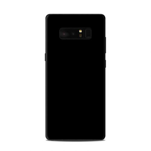 Solid State Black Samsung Galaxy Note 8 Skin
