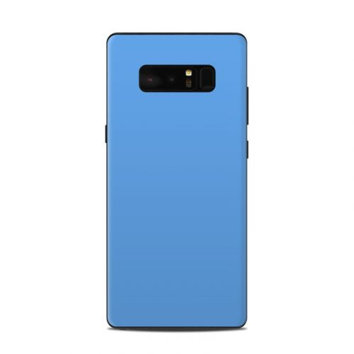 Solid State Blue Samsung Galaxy Note 8 Skin
