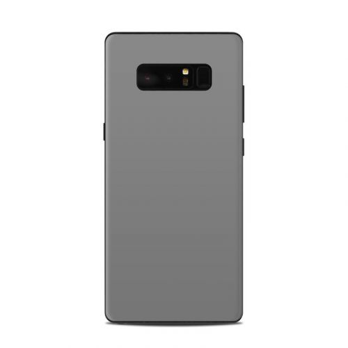 Solid State Grey Samsung Galaxy Note 8 Skin