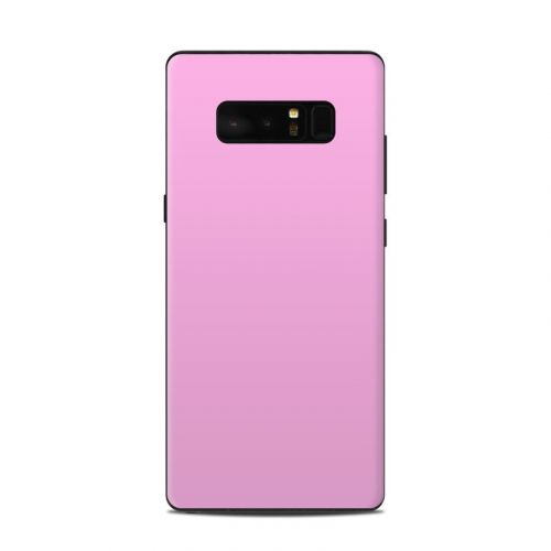 Solid State Pink Samsung Galaxy Note 8 Skin